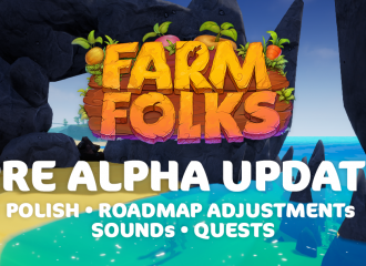Pre Alpha Update - Polish, Sounds, Quest System and more!